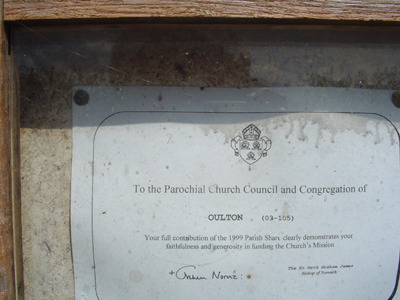 Church Certificate